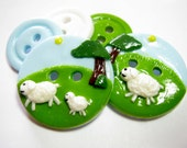 Little lamb set of 5