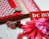 Sweet Valentine Card Making Kit (Over 50 Pieces incl. 6 cards and envelopes)