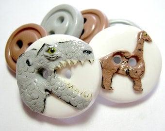 Dinosaurs ( set of 6)
