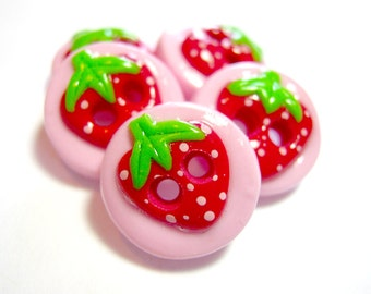 Summer Strawberries ( set of 5)