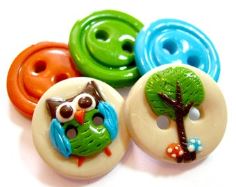 Forest Owl (set of 5)