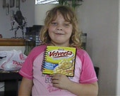 Recycled Velveeta Shells and Cheese Family Size Box Book