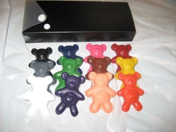 Crayons, Teddy Bear