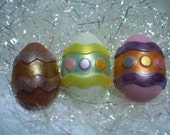 Holiday Soap - Easter Egg Soap Set - Vanilla Scent
