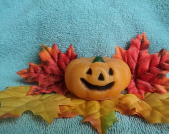 Jack -O-Latern Pumpkin Soap - Great for Halloween and so cute!!