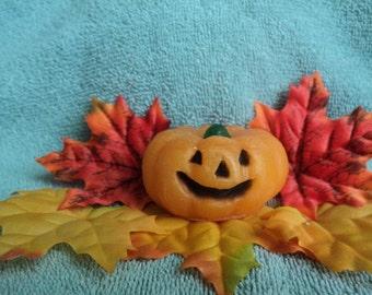 Halloween Soap - Jack -O-Latern Pumpkin Soap -