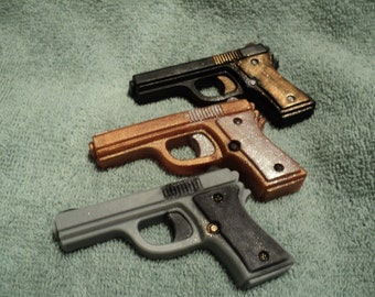 Mini Gun Soap Set - Men's soap, Police Officers, Fathers Day, Bachlor Party, Guy Gifts, Bridal Party