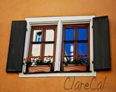 Bright Window, Rothenburg ob der Tauber - 8x10 Photograph