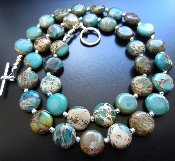 Tiny Earths Necklace