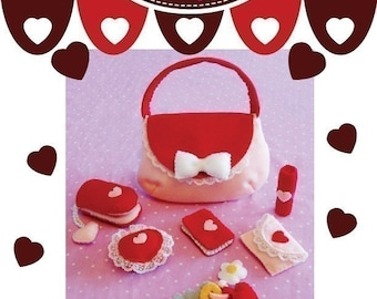Sweet Heart Make-up Set - PDF Pattern