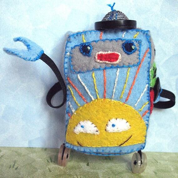 Tiny Sunshine Robot Doll