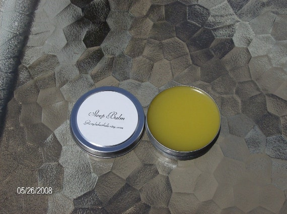 Sleep Balm with Herbs and Essential oils