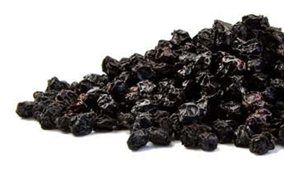 Organic Black Elderberries for Flu One and a Half Ounces