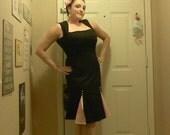 1940s 50s Style Wiggle dress