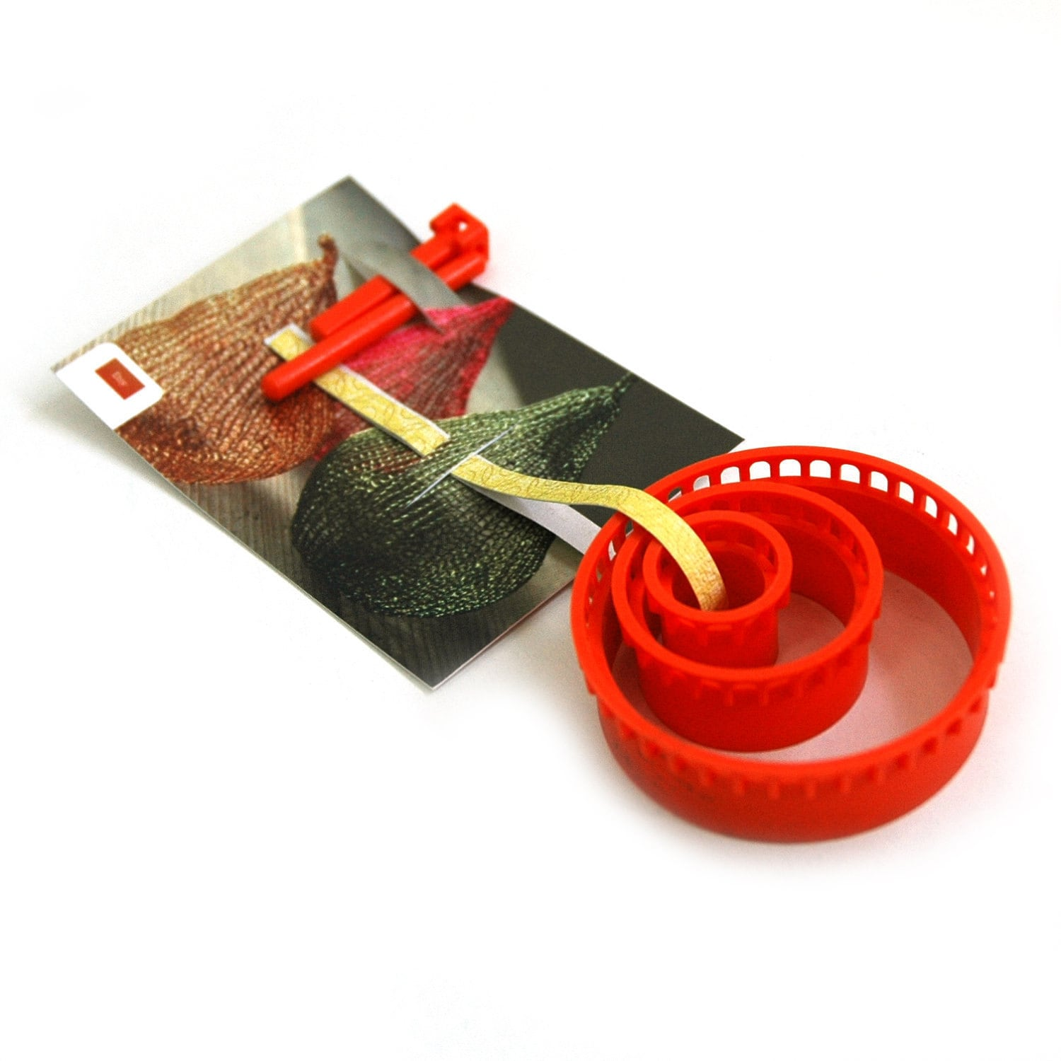 Knitting With Wire Book : Wire crochet tool isk invisible spool knitting starter