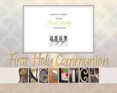 Communion mat--personalized