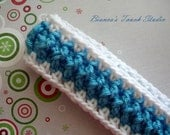 INSTANT DOWNLOAD Textured Crochet Headband PATTERN. baby, Children, Adults.