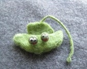 Two Peas In a Pod Needle Felted Buddies