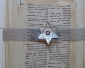 Jewish and Hebrew collage material - vintage book pages from hymnals, prayerbooks, children's books