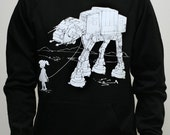 My Star Wars AT-AT Pet - Mens / Unisex Pullover Hoodie ( Star Wars / ATAT hoodie)