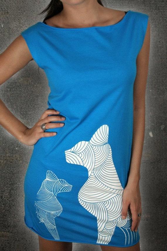 Egyptian Cats - American Apparel T-Dress ( Cat dress )