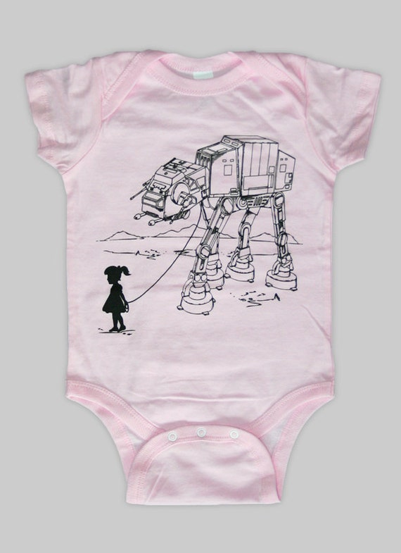 ... Star Wars AT-AT Pet - Baby Onesie Bodysuit ( Star Wars baby onesie
