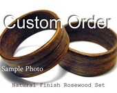 Wood Ring Set (Commisson for  lauragrafton)