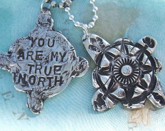 You Are My True North, His and Hers Jewelry Gift Set, Lovers Gift Set, Gift for Husband, Gift for Wife, Couples Gifts, Lovers Jewelry Gifts