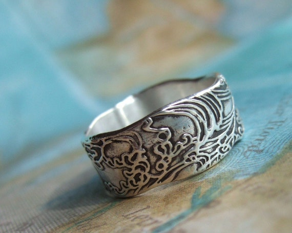 Return To Invoice Gap Insurance Nautical Gift Nautical Silver Ring Ocean Waves Jewelry Gift Free Invoice Website Pdf with Editable Invoice Word Nautical Gift Nautical Silver Ring Ocean Waves Jewelry Gift For Women And  Men Nautical Jewelry Ocean Ring Size            Pecan Pie Receipt Excel