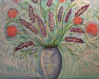"Print of Original Painting, ""Spring Bouquet """