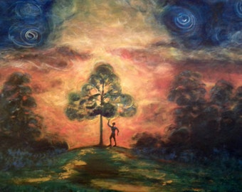 "Print, ""The Tree of Life"""