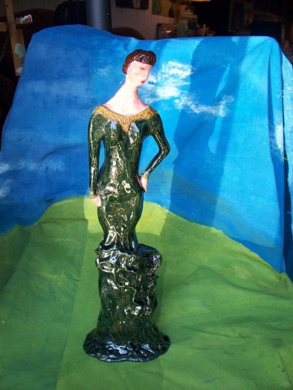 Sculpture Academy Award Dress