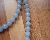 8 6mm Blue Lace Agate Beads