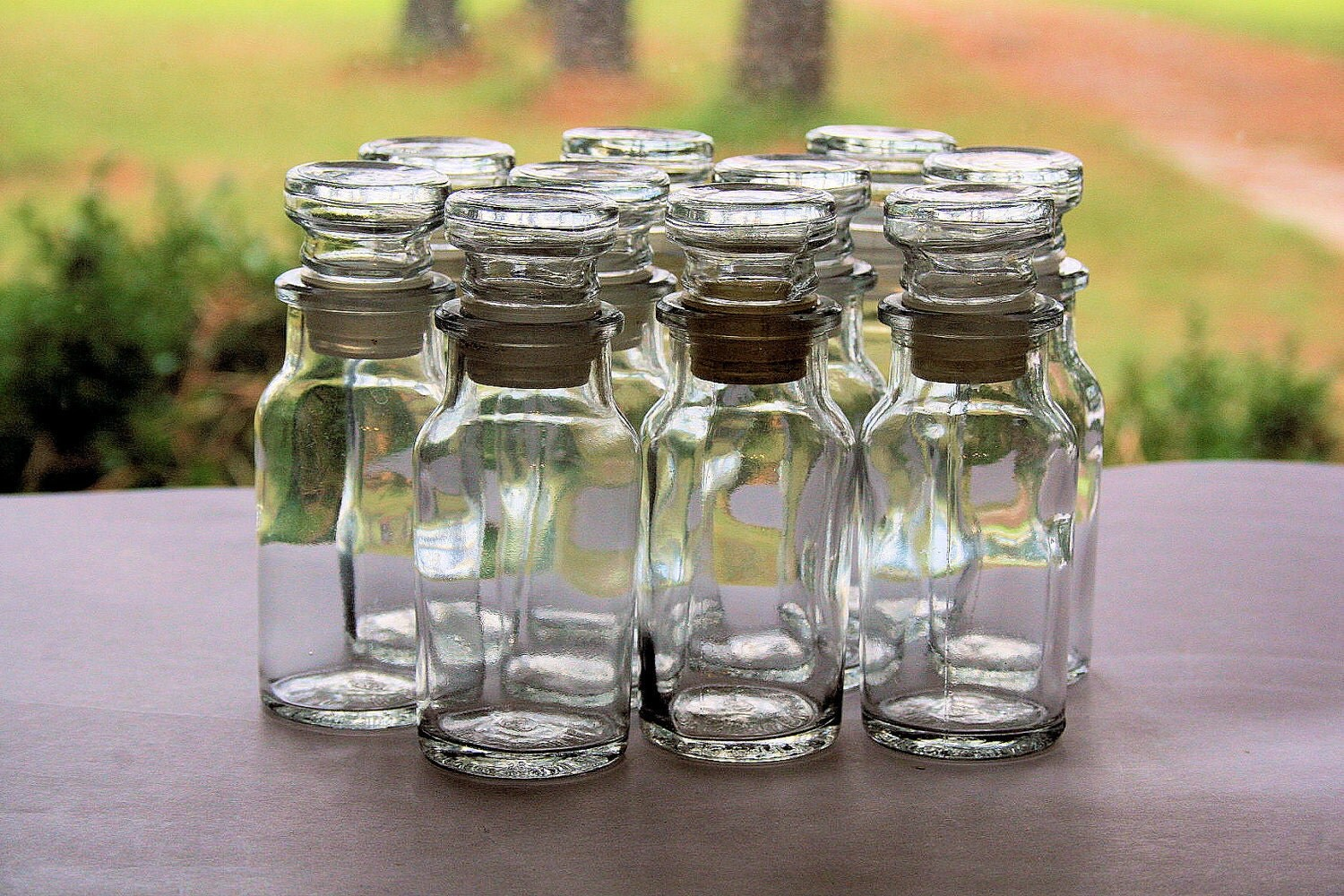 apothecary spice bottles pictures