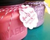 Pomegranate Mason Jar Soy Candle