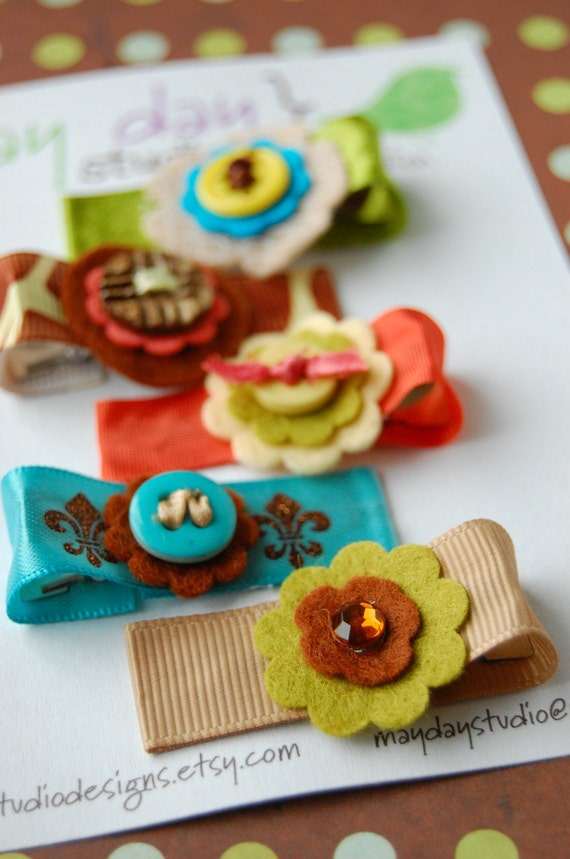 hair clip collections - jungle boogie