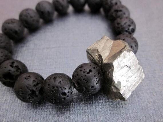 Black Lava Bracelet