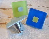 Sea Glass Drawer Pulls Cabinet Knobs