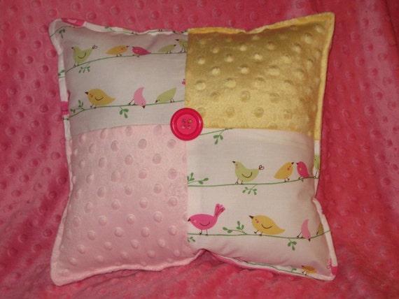 Sweet Penelope Bird Square Pillow