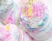Girly Girls Luv  Cotton Candy-Whipped Cake Frosting Sugar Scrub 8oz.