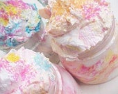Kiss Me Pink Sugar-Whipped Cake Frosting Sugar Scrub 8oz.of The Sexiest Girly Girl Fun Fragrance