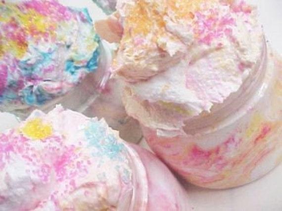Pink Bubblegum Ice Cream-Whipped Sugar Scrub 8oz. Jar.