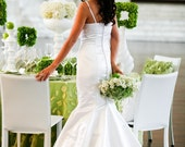Claire mermaid wedding gown