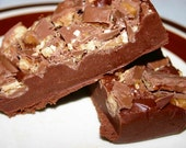 Toffee Chocolate Fudge in a half pound gift box- on special for the month of July