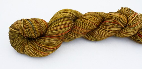 Big Bend--hand dyed sock yarn, merino and nylon, (463yds/100gm)