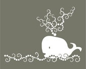 whale of a wall vinyl wall art decal
