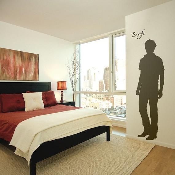 The Original Edward Cullen Life Size Twilight Silhouette Vinyl Wall Decal