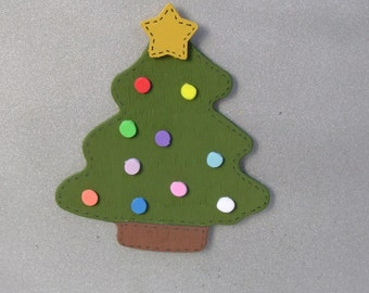 SALE - Christmas Tree Magnet