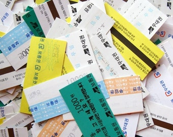 20 tickets - asian rail tickets