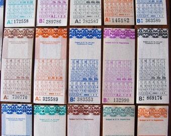 vintage bus tickets - 20 - South Australian